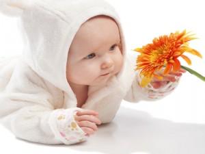 Детский массаж (ребенку).